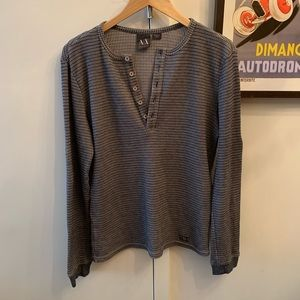 A|X Armani Exchange Knit Shirt! Only Worn Once